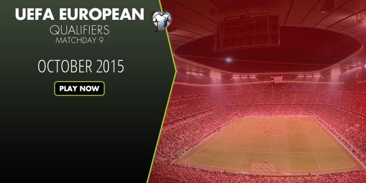 UEFA EUROPEAN QUALIFIERS!!! Play now only on www.betboro.com