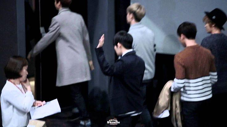 "141020 TEENTOP Bundang Autograph Event Ricky ""bye"" 분당 팬싸인회 리키 끝인사"