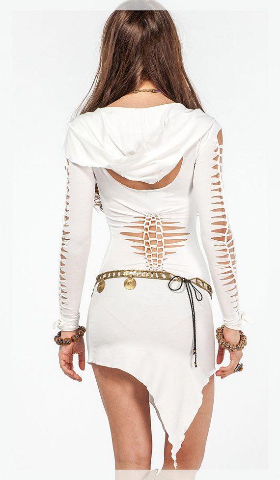 Vestido de hadas de la túnica. Vestido por LeelaCreationsBali