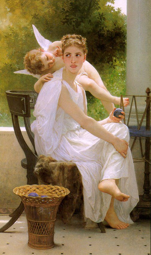 William-Adolphe Bouguereau (1825 - 1905). Work interrupted 1891 http://www.bouguereau.org/ (Thx Alexis)