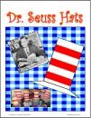 Easy to make and wear hats for Dr. Seuss studies.