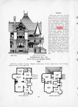 Cottage Souvenir 1896 :: George F. Barber Collection