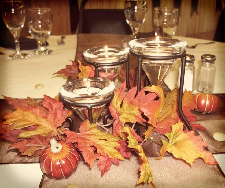17 Best Images About Fall Wedding Centerpieces On
