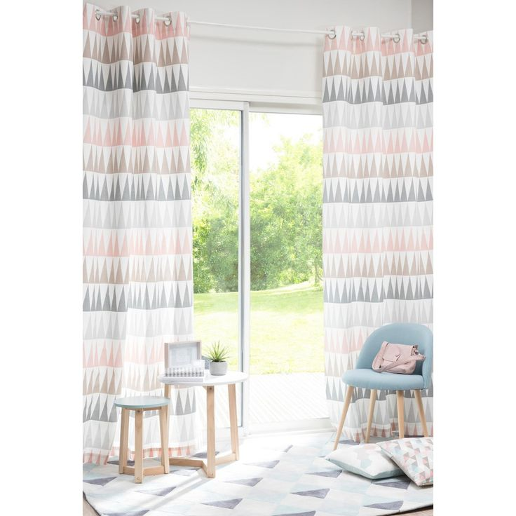 TRENDY cotton curtain with eyelets, ...
