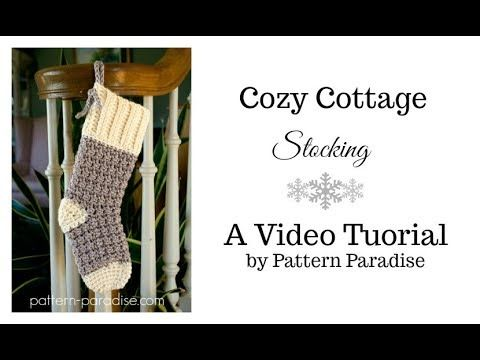 Cozy Cottage Christmas Stocking