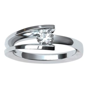 #anillo de #compromiso con #diamante de .25 cts     @EternityJoyeria