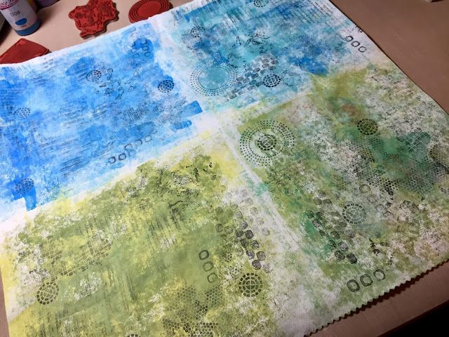 PaperArtsy: 2017 #18 Torn, Ripped, Burnt: Organic Art with ELB {by Claire Snowdon}