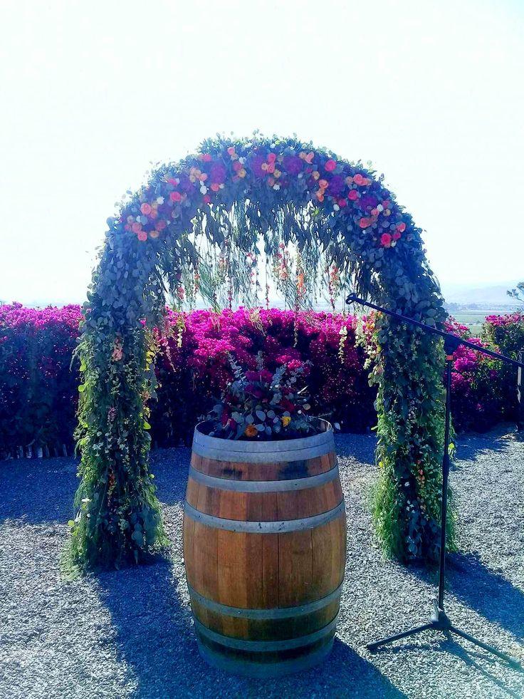 Decoración Arco Ceremonia