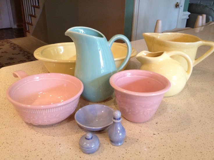 My vintage LuRay pastels dinnerware collection. & 50+ best Luray images on Pinterest   Vintage tableware Vintage ...