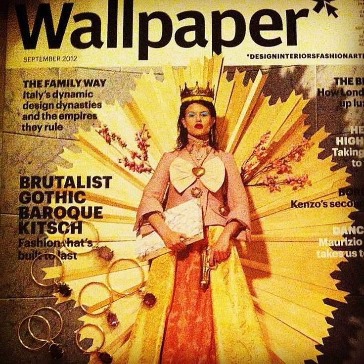 B-Tal rings on the cover of Wallpaper's september issue!!!!!