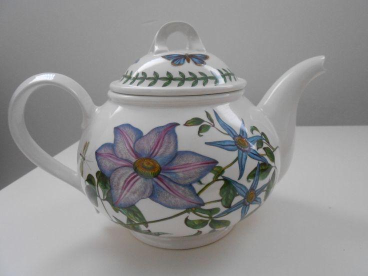 Port Meirion Teapot The Botanic Garden Collectable