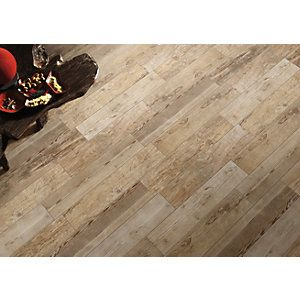 wickes madeira light oak wood effect porcelain floor u0026 wall tile 140x840mm