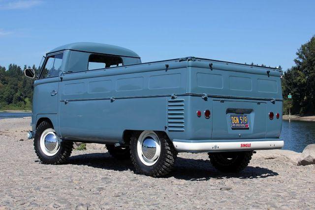 1957 Single Cab VW Transporter For Sale @ Oldbug,com