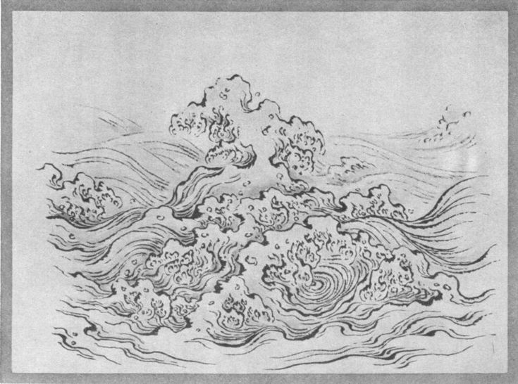Storm Waves. Plate XL.