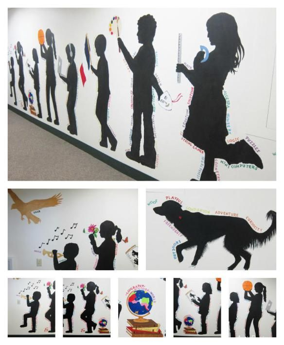 17 best images about mural ideas on pinterest children for Collage mural ideas
