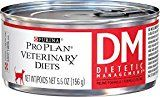 #healthyliving Purina Veterinary Diets Feline DM Dietetic Management Canned Cat Food 24 5.5-oz cans by Purina [Pet Supplies] Reviews
