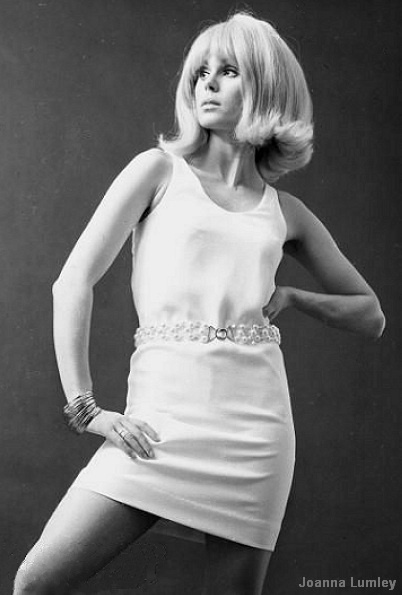 Joanna Lumley  (Patsy on AbFab)