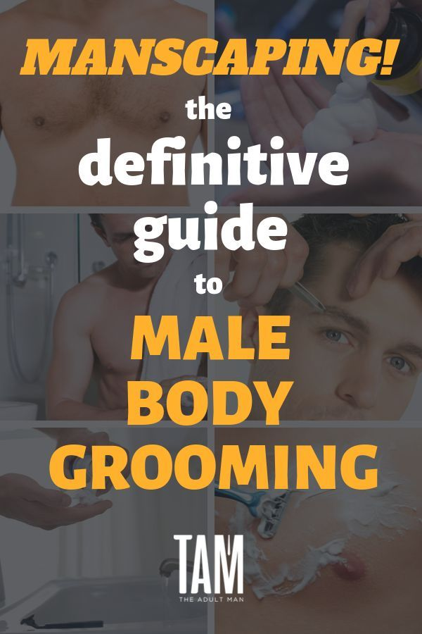 Gentlemen, it's time to take the guesswork out of manscaping. Learn everything you ever wanted to know about grooming your entire body. #grooming #groomingtips #groomingkit