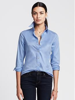 Stocking your closet with great fashiony pieces is great but don't neglect some staples that will last for seasons and go with anything.  Banana Republic | Pretty Little Liars