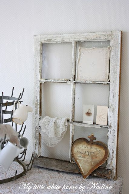 Whites ~ French wooden window