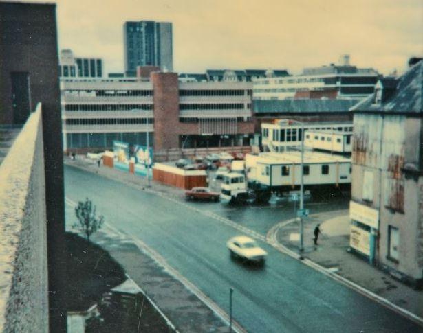 Adam Street in the early '80s