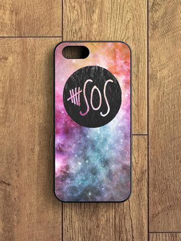 5 Second Of Summer Logo Galaxy iPhone 5|S Case