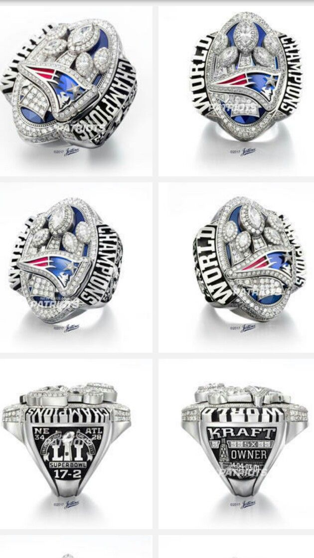 Patriot Players With Multiple Rings