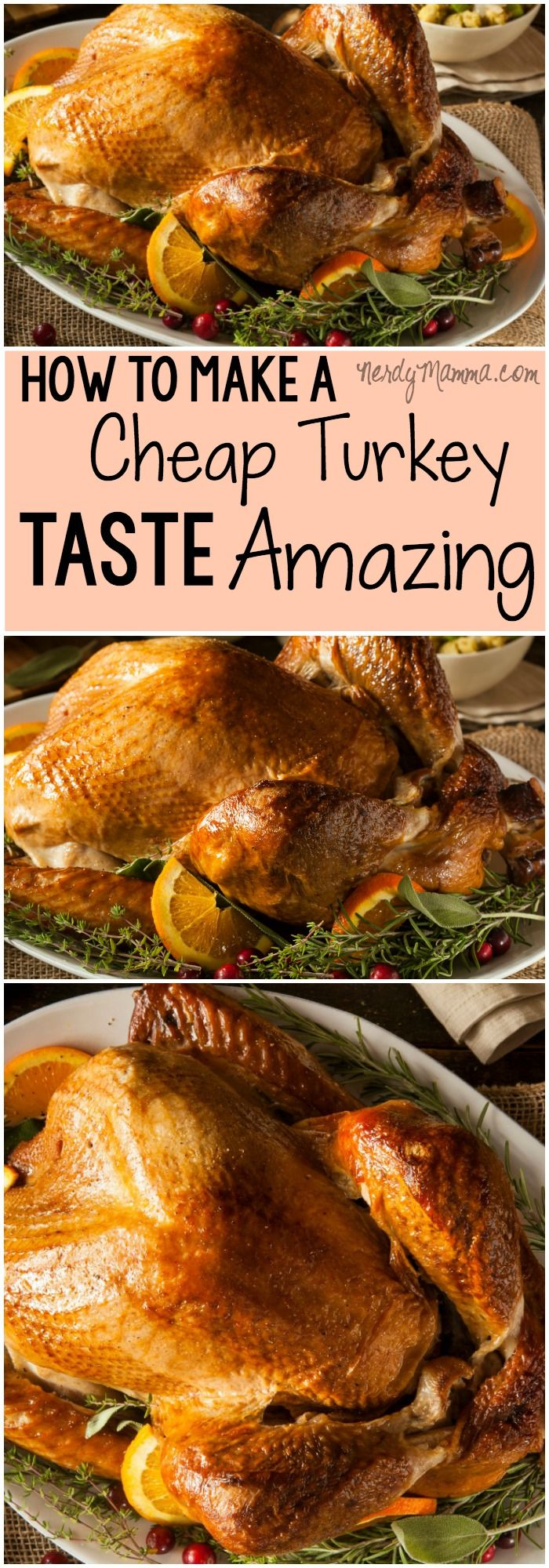 I love this recipe for making a cheap turkey taste awesome. Its so simple and sounds great! #Thanksgiving #Turkey #CheapMeals #ThanksgivingRecipe #ThanksgivingDinner