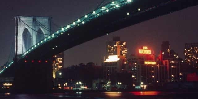 The Watchtower Sign—A Longtime Brooklyn Landmark......This is where my son will go!