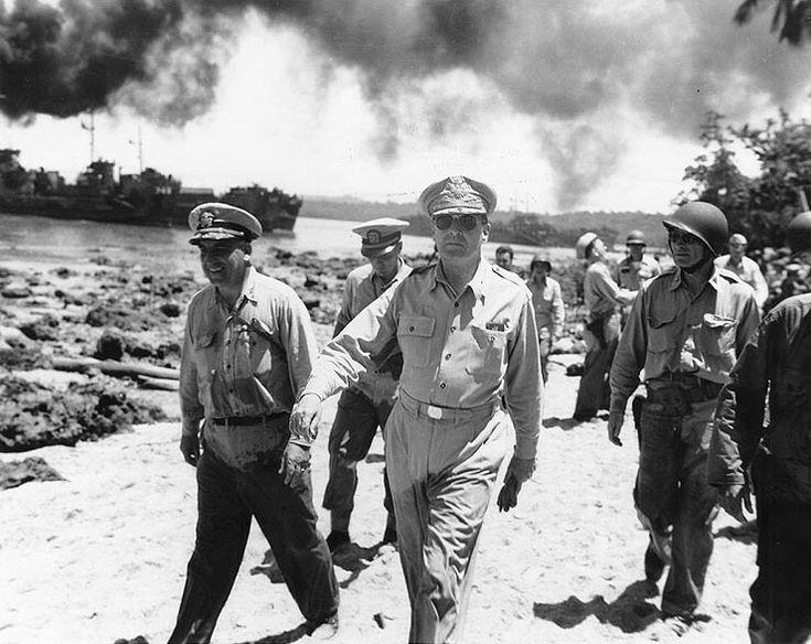 Kedatangan Jendral Mc. Arthur di Indonesia tahun 1946