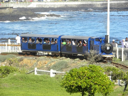Blue Train -  loved rides on the 'blue train' as a child, and later my own children did the same..