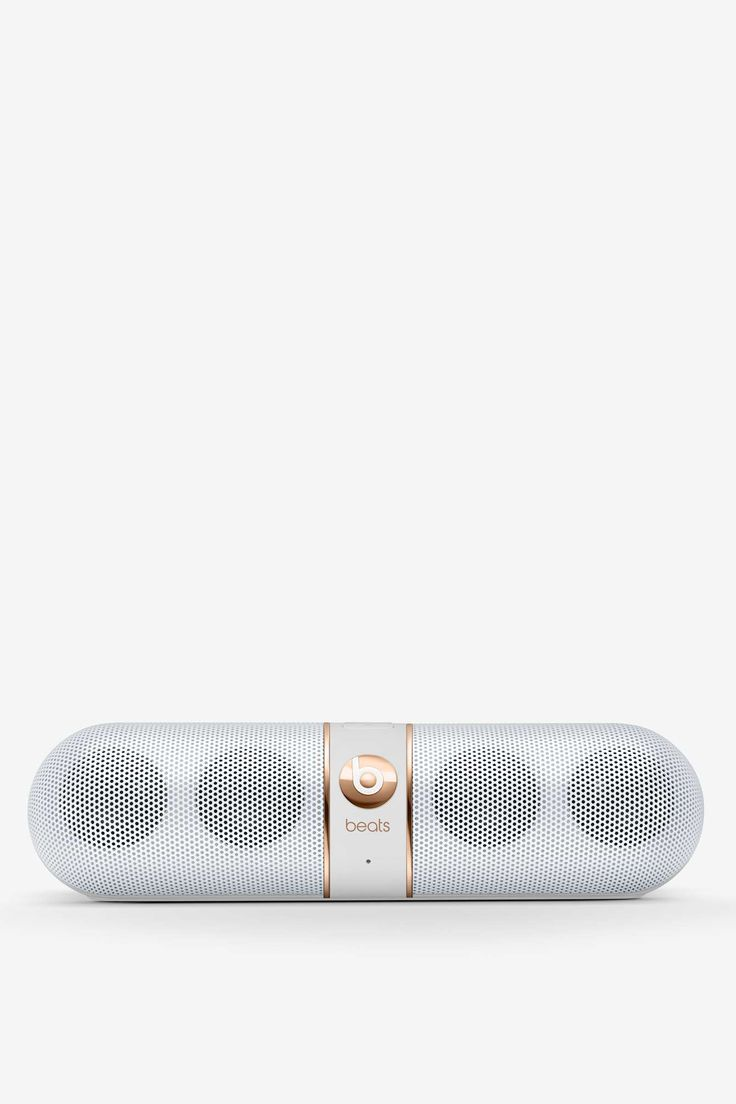 Beats by Dre Rose Gold Pill Wireless Speaker | Shop Tech Nerd at Nasty Gal