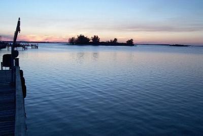 Dunedin Florida Sunset over the Gulf