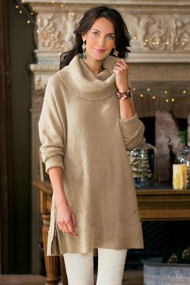 Side Zip Sweater I from Soft Surroundings