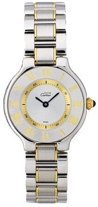 Amazon.com: NEW CARTIER 21 MUST DE CARTIER LADIES WATCH W10073R6: Watches