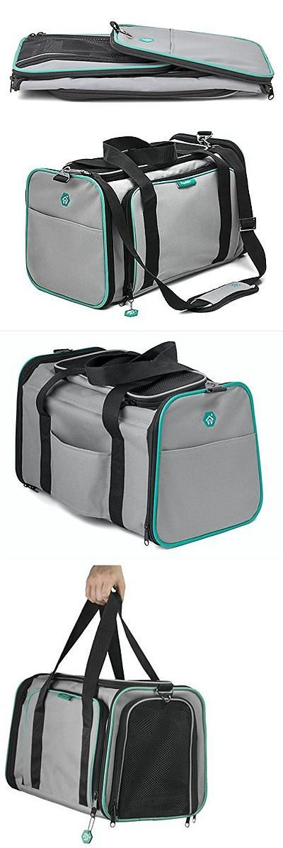 Carriers and Crates 26702: Pawdle Expandable And Foldable Pet Carrier Domestic Airline Approved Heather ... -> BUY IT NOW ONLY: $43.23 on eBay!