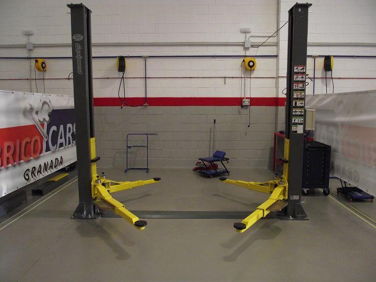 Elevador de coches hidráulico con cuatro puntos de apoyo