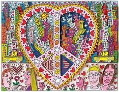 """James Rizzi """"The Best Peace Of My Heart"""" 2014 3D-Siebdruck ..."""