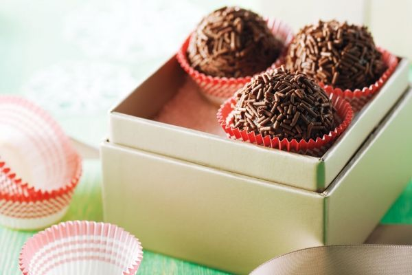 Nothing says Christmas like our really good rum balls. This recipe makes 36! Photo by Ryan Szulc.