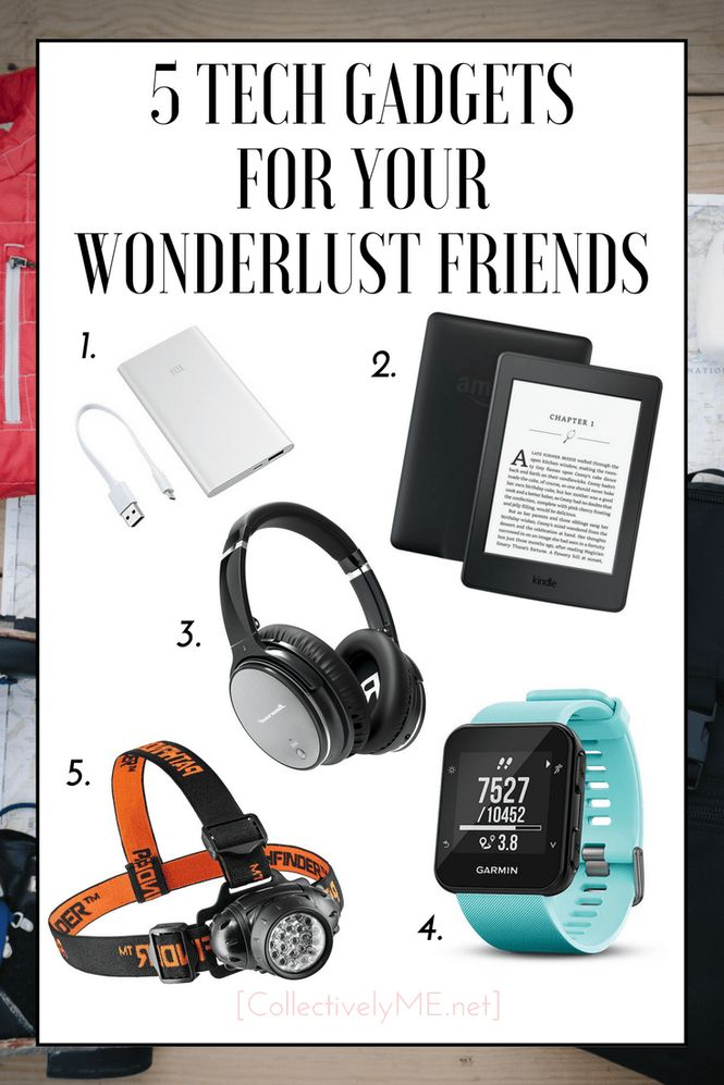 5 Tech Gadgets for Your Wonderlust Friends. Collectivelyme Gifts