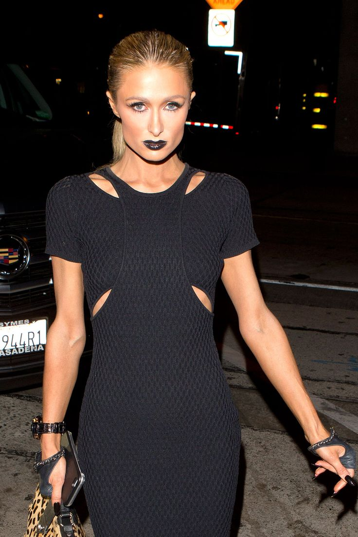 Paris Hilton Makes an Elegant Goth | Paris, Paris hilton ... Paris Hilton