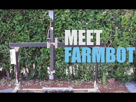 The FarmBot Genesis Brings Precision Agriculture To Your Own Backyard - http://modernfarmer.com/2016/06/farmbot-genesis/?utm_source=PN&utm_medium=Pinterest&utm_campaign=SNAP%2Bfrom%2BModern+Farmer