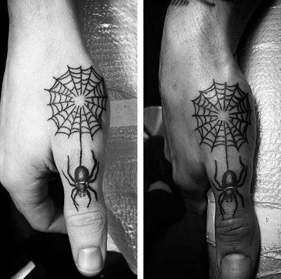 100 Spider Tattoos For Men A Web Of Manly Designs Tattoos For Guys Spider Tattoo Web Tattoo