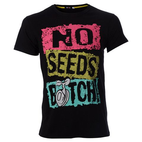 "Ανδρικό t-shirt "" No Seeds #Bitch ""  http://brands4all.com.gr/collections/mens-t-shirt/products/t-shirt-no-sheeds-bitch-bronx"
