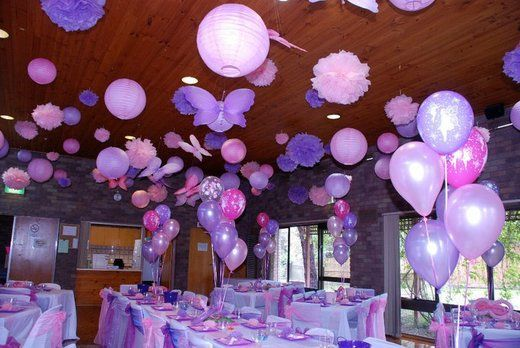 WOWEE! I would love to do this for a kids party :-) How effective & magical, reminds me of my GIRLY PETITE premium pettiskirt ~ this a pink and purple party??? Hhmmmm..