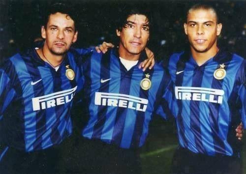 Fantastico trio ... Baggio, Zamorano, Ronaldo