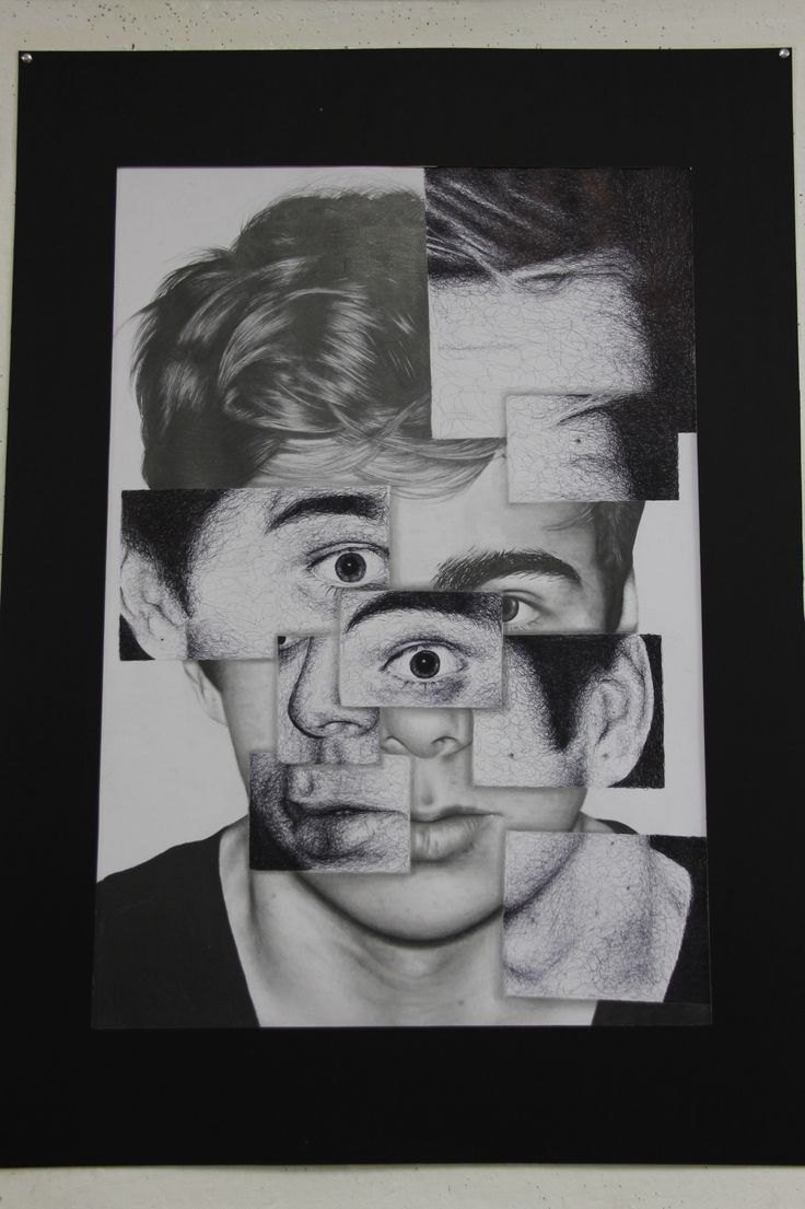 Graphite drawing. Size:A0