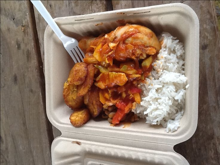 West Africa Togo Food | Dad Knows How to Cook - Food Carts Portland