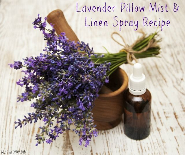 DIY Lavender Pillow Spray and Linen Mist