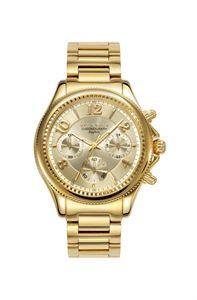 Reloj Viceroy Penélope Cruz, el dorado de la colección, elegante, moderno, de lo más chic, con función de crono y tres agujas de lectura de la hora. www.relojes-especiales.net #dorado #oro #zafiro